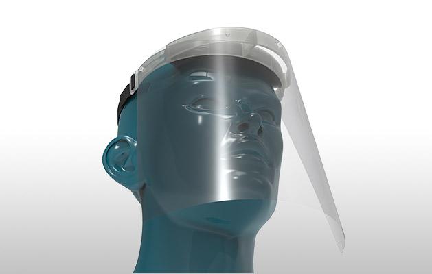 Corona RENZ Gesichtsschutzschild
